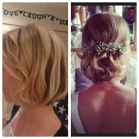 Embracing the bob - Wedding hair inspiration for brides with shorter hair | Ultimate Wedding Magazine 3