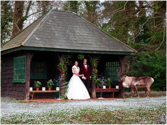 Winter Wedding | Deer Park Wedding Christmas Shoot | Ultimate Wedding Magazine
