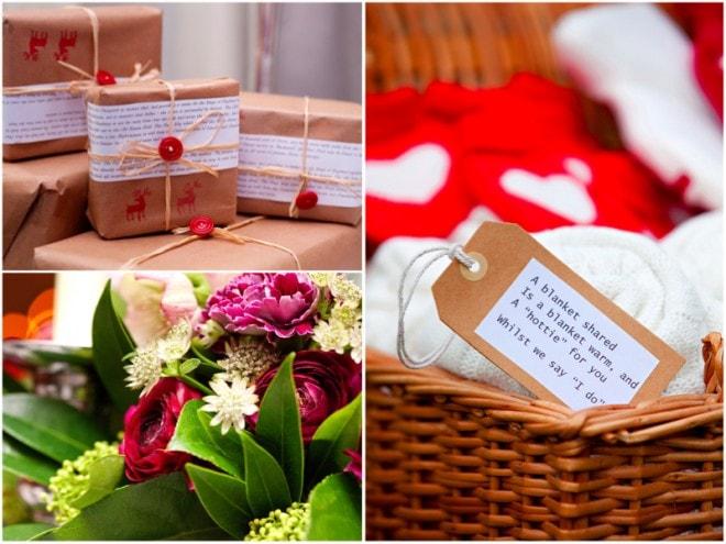 Wedding Gifts | Deer Park Wedding Christmas Shoot | Ultimate Wedding Magazine
