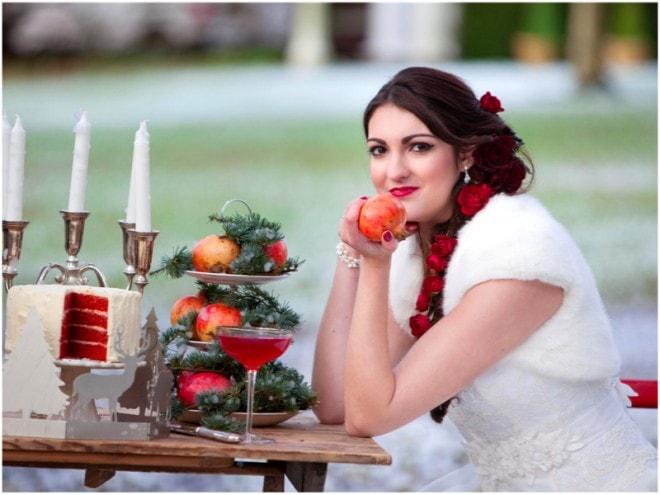 Winter Bride | Deer Park Wedding Christmas Shoot | Ultimate Wedding Magazine