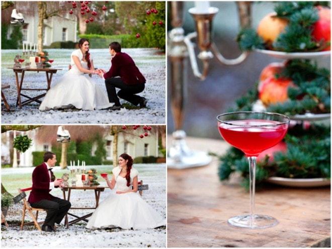 Winter Wedding Decor | Deer Park Wedding Christmas Shoot | Ultimate Wedding Magazine