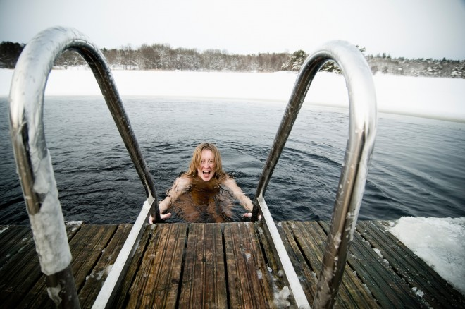 Cold Water | Mini moon In Sweden | Ultimate Wedding Magazine