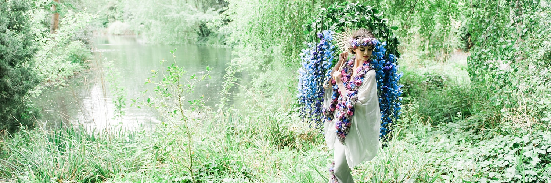 Flower dress kicks off RHS Chelsea Flowers Show 2015 | Ultimate Wedding Magazine 6
