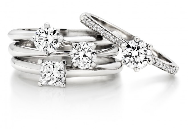 Ingle&Rhode four diamond rings