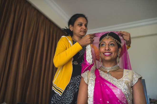 Bride getting ready   Indian wedding in Goa   Nishit Parmar   Ultimate Wedding Magazine