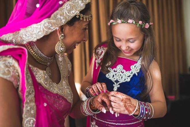 Flower Girl   Indian wedding in Goa   Nishit Parmar   Ultimate Wedding Magazine