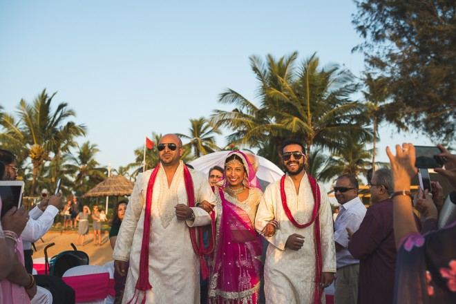 Bride Arriving | Indian wedding in Goa | Nishit Parmar | Ultimate Wedding Magazine