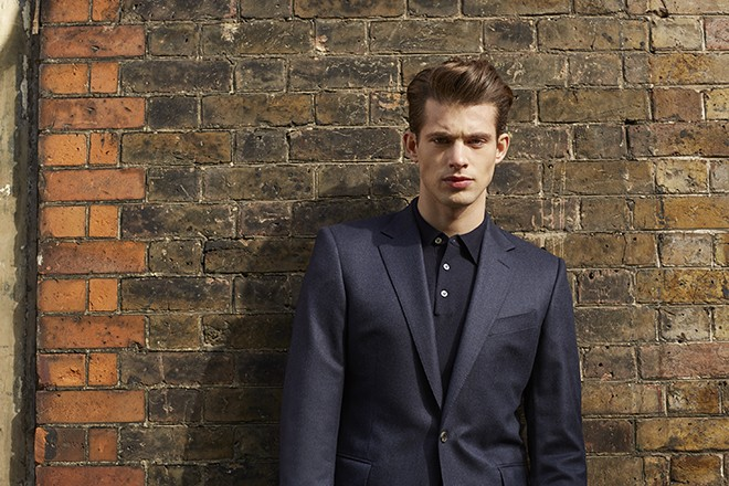 Navy Blazer | Chester Barrie Unveil AW15 Collection
