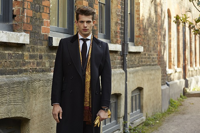 Suit and Winter Jacket | Chester Barrie Unveil AW15 Collection