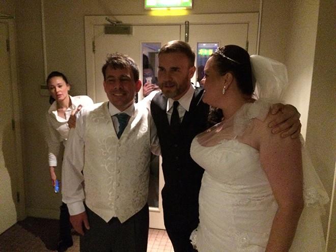 Gary Barlow Wedding11