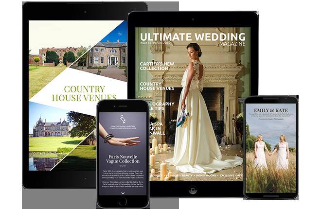 Interactive wedding magazine Issue 18 Sep/Oct 2015