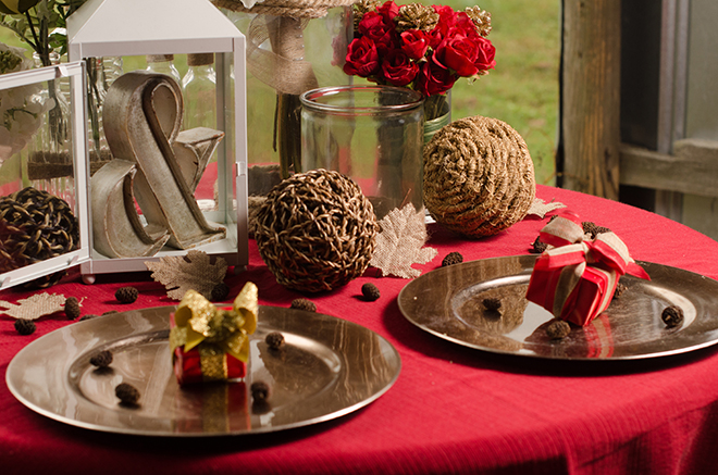 Christmas Tablet Setup | Christmas Chic | Fancy This Photography | Ultimate Wedding Magazine