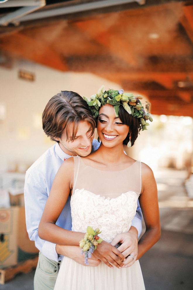Bride and Groom Utah | Farm Fresh Style Wedding in Utah | Gideon Photography | Ultimate Wedding Magazine