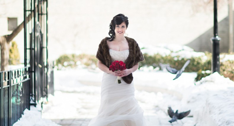 Glamour Winter Wedding Cover