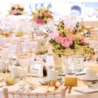 Afternoon tea is the perfect finish to a wedding with a vintage or classically English theme