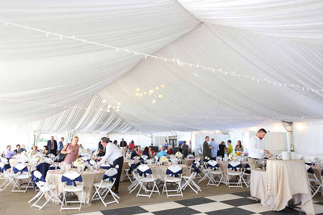 Marquee wedding | Canada joins USA on Lake Erie | Blue Martini Photography