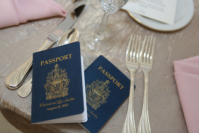 Wedding passport | Canada joins USA on Lake Erie | Blue Martini Photography