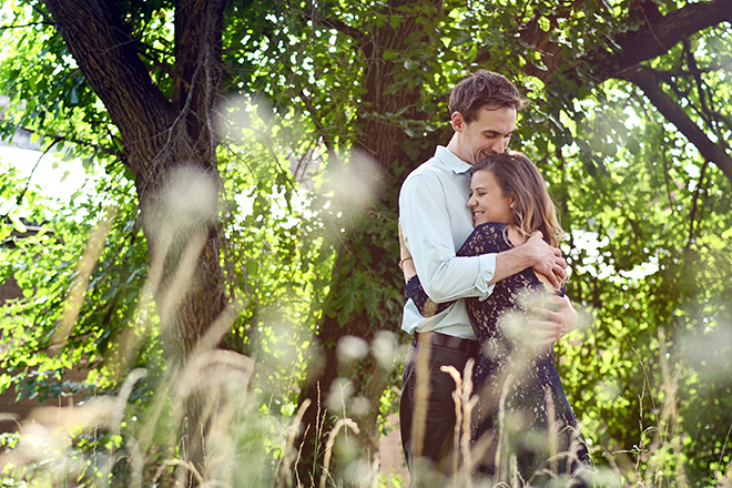 Couple in the countryside | Engagement Shoot in Charlotte NC | Catrina Earls Photography