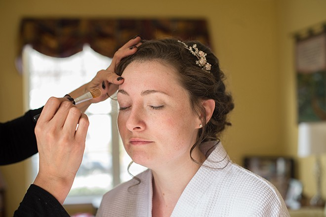 Bridal make-up | Regal Winter Wedding | Bokeh Love Photography