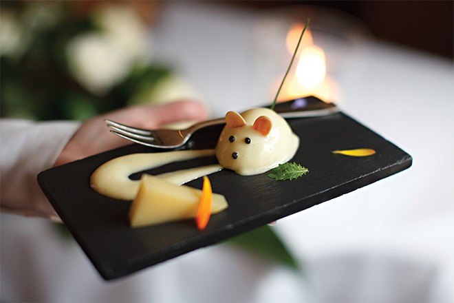 Dessert at Le Manoir