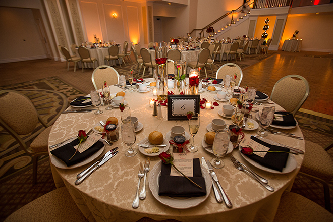 Wedding table | Regal Winter Wedding | Bokeh Love Photography