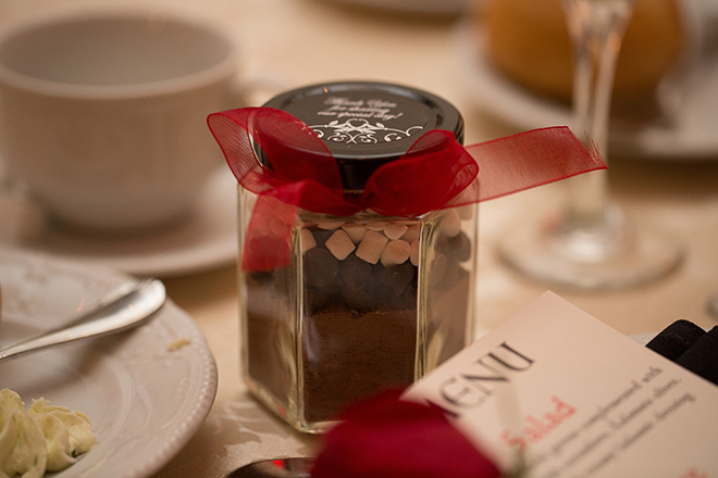 Handmade wedding favour | Regal Winter Wedding | Bokeh Love Photography