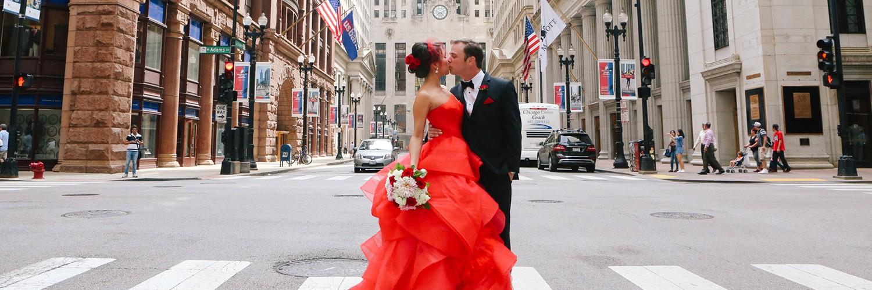 Chicago City Wedding Cover