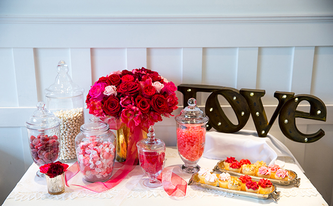 Wedding sweet table in pink | Ombre Pink | Joanna Moss Photography
