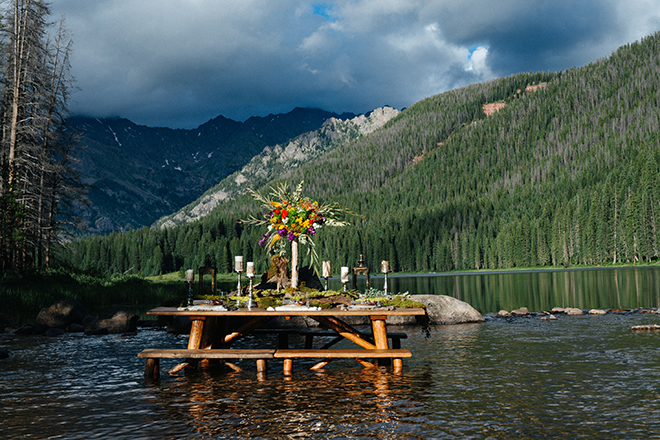 Rustic wedding themed table | Where the wild things are | Elizabeth Cryan Photography
