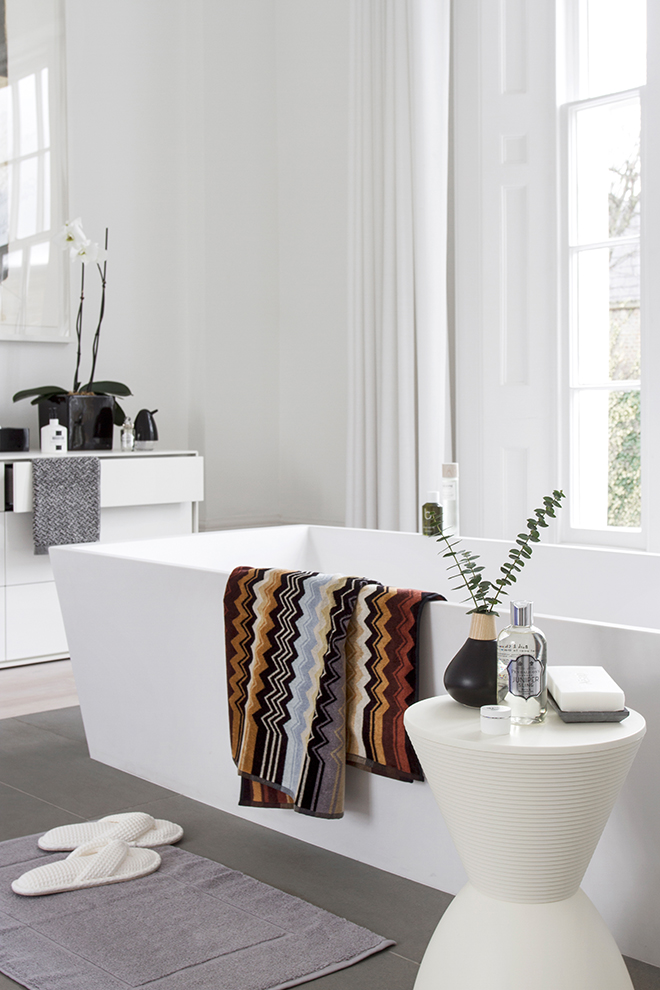 White Bathroom | Amara