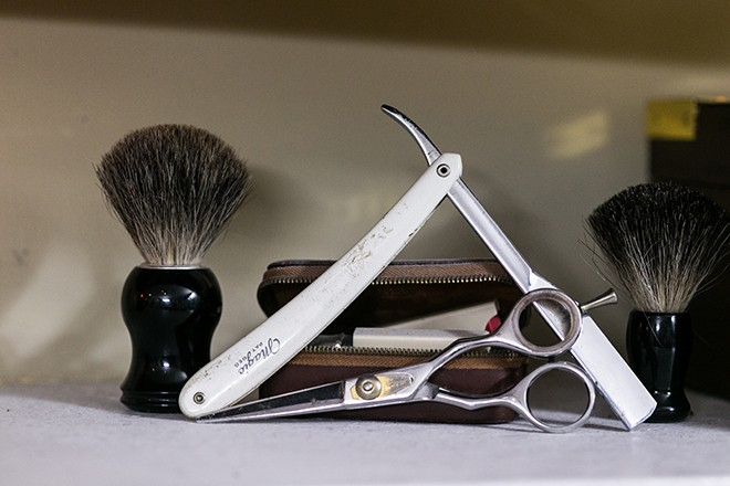 Grooming products for men | Grooming the groom | Michael Bennett Kress Photography
