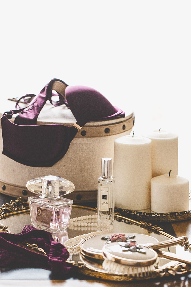 Candles and lingerie | Opulent Romance | Mehta Weddings