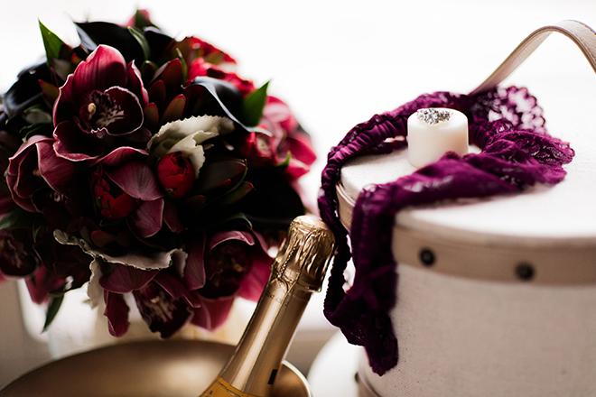 Purple flowers | Opulent Romance | Mehta Weddings