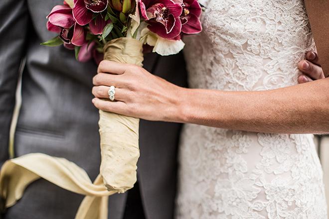 Bride wearing wedding ring | Opulent Romance | Mehta Weddings