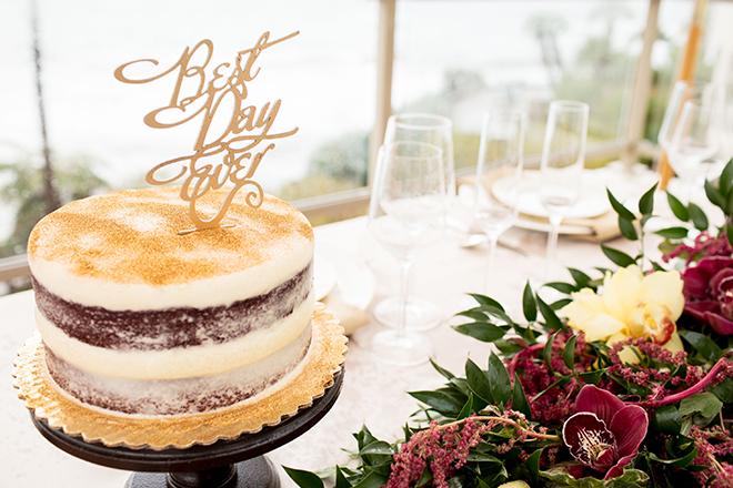 The Inn at Laguna Beach wedding cake | Opulent Romance | Mehta Weddings