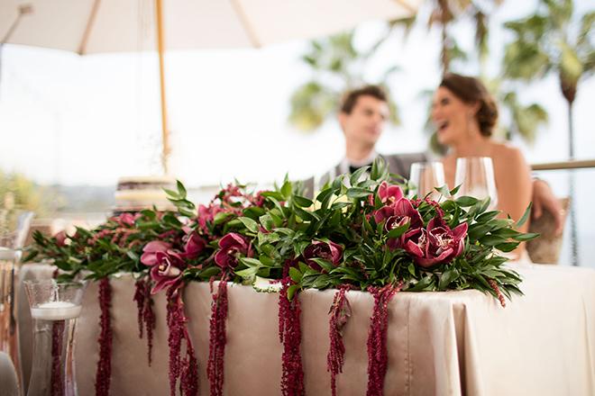 Head table at wedding | Opulent Romance | Mehta Weddings