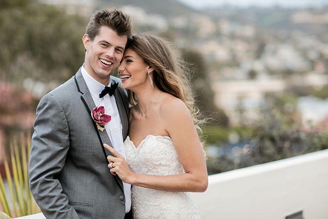 The Inn at Laguna Beach Bride and Groom | Opulent Romance | Mehta Weddings