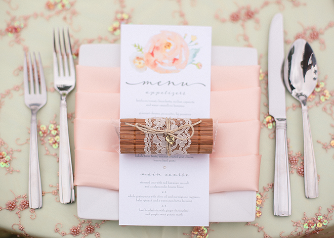 Pink wedding stationery | Paradise in Hawaii | Jenna Lee Pictures