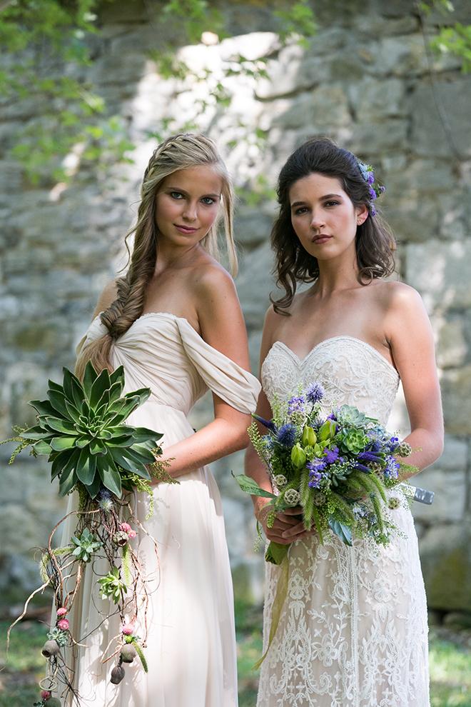Rustic garden theme wedding | Whimsical Rustic Bride | Michael Bennett Kress Photography