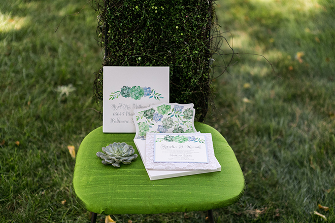 Rustic garden wedding invitations | Whimsical Rustic Bride | Michael Bennett Kress Photography