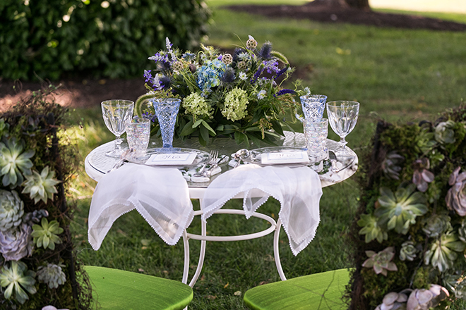 Rustic garden wedding theme | Whimsical Rustic Bride | Michael Bennett Kress Photography