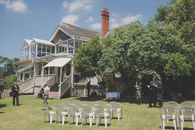 Outdoor Wedding | Rose Garden Beach Wedding | Levien and Lens Photography