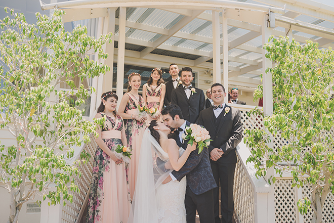 Wedding in garden