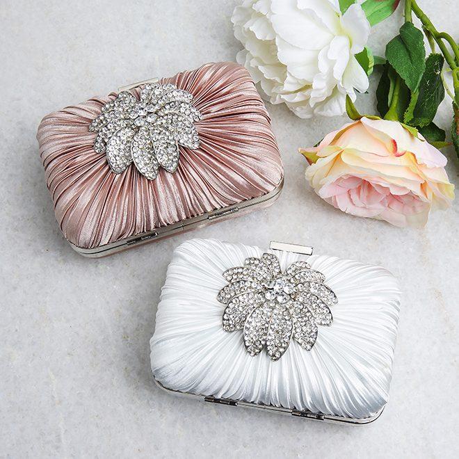 Unique wedding clutches