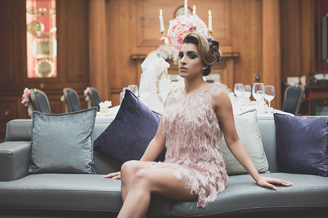 Modern wedding dress | City Chic | Zoe Ann Photography