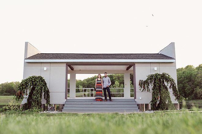 Modern barn | Modern Country Engagement | Brandy Swartz Photography