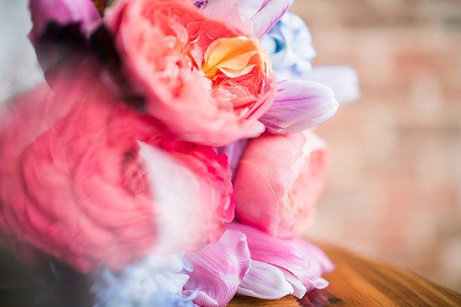 Pink flowers | Sweet Heart Elopement | Refine & Foster Photography