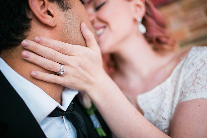 Bride pink hair | Sweet Heart Elopement | Refine & Foster Photography