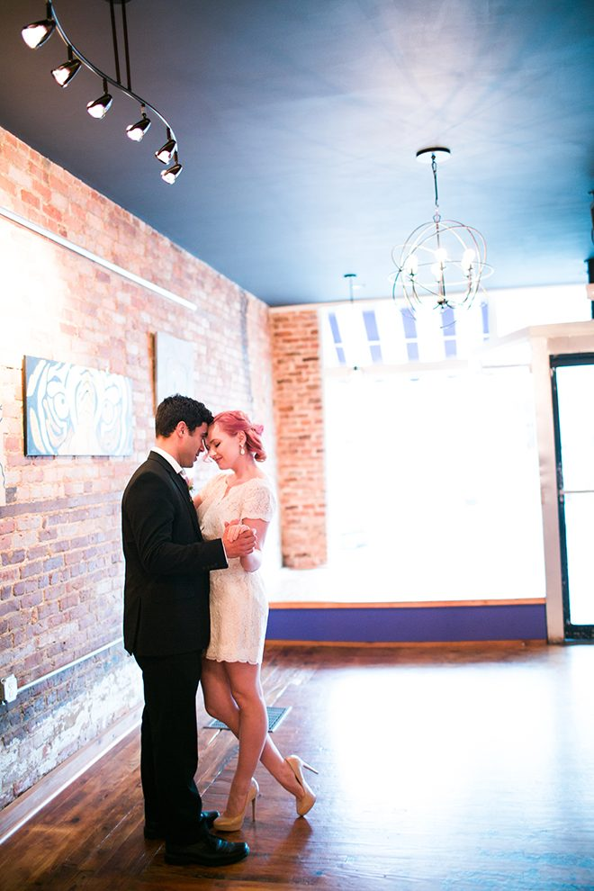 Bride and groom standing together | Sweet Heart Elopement | Refine & Foster Photography
