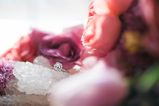 Engagement ring | Sweet Heart Elopement | Refine & Foster Photography